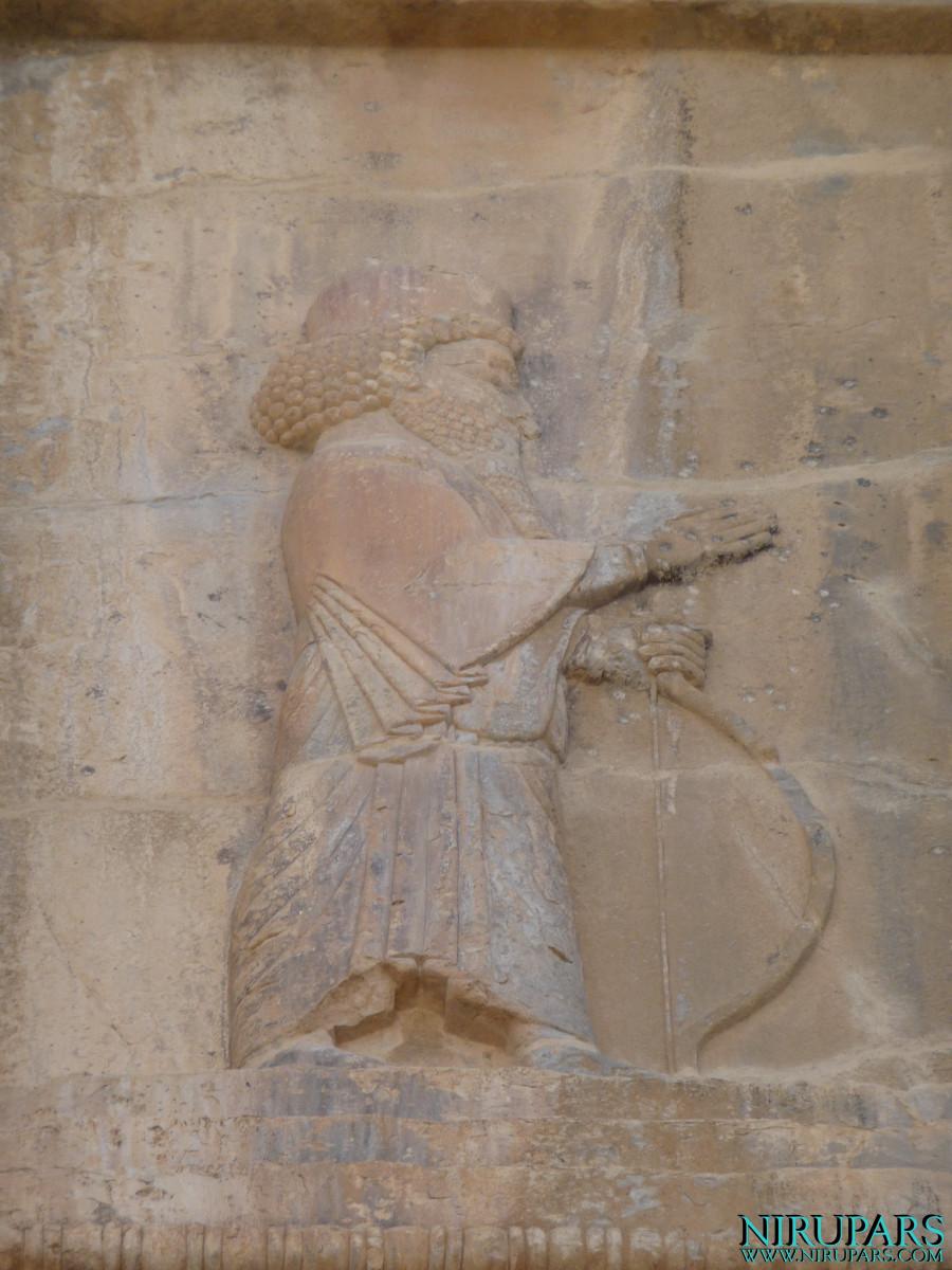 Persepolis - Tomb 1 - Relief King