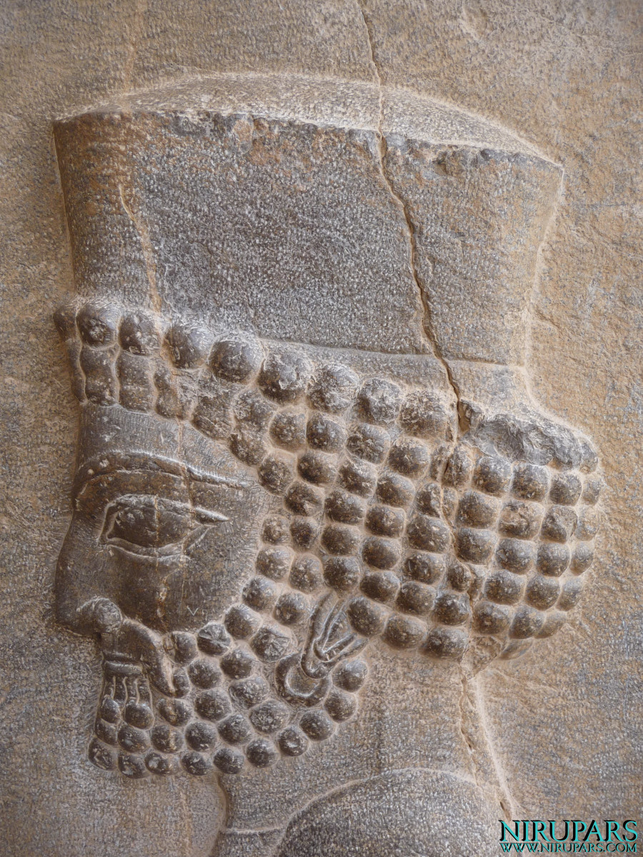 Persepolis - Tomb 1 - Relief - Soldier