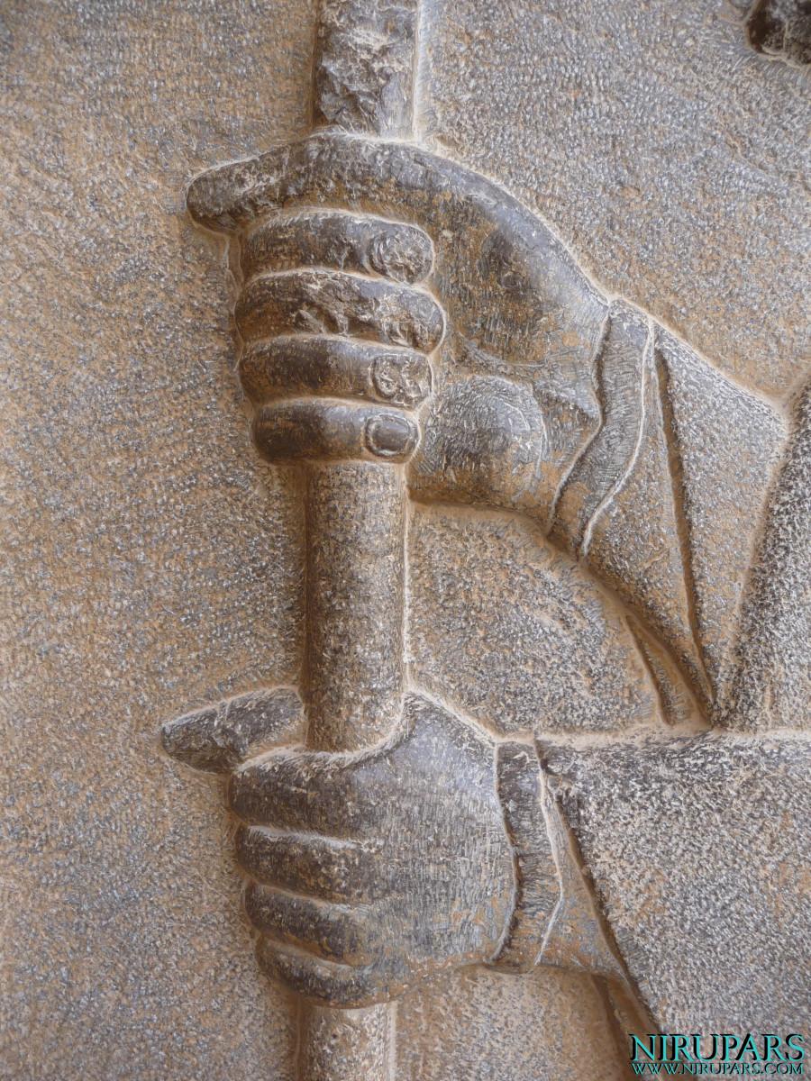 Persepolis - Tomb 1 - Relief - Soldier_2
