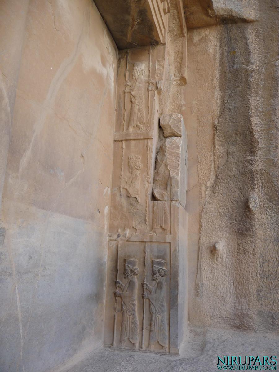 Persepolis - Tomb 1 - Relief - Soldiers