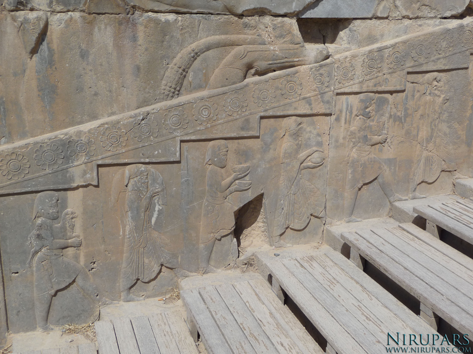 Persepolis - Xerxes Palace - East Portico - Relief Delegations