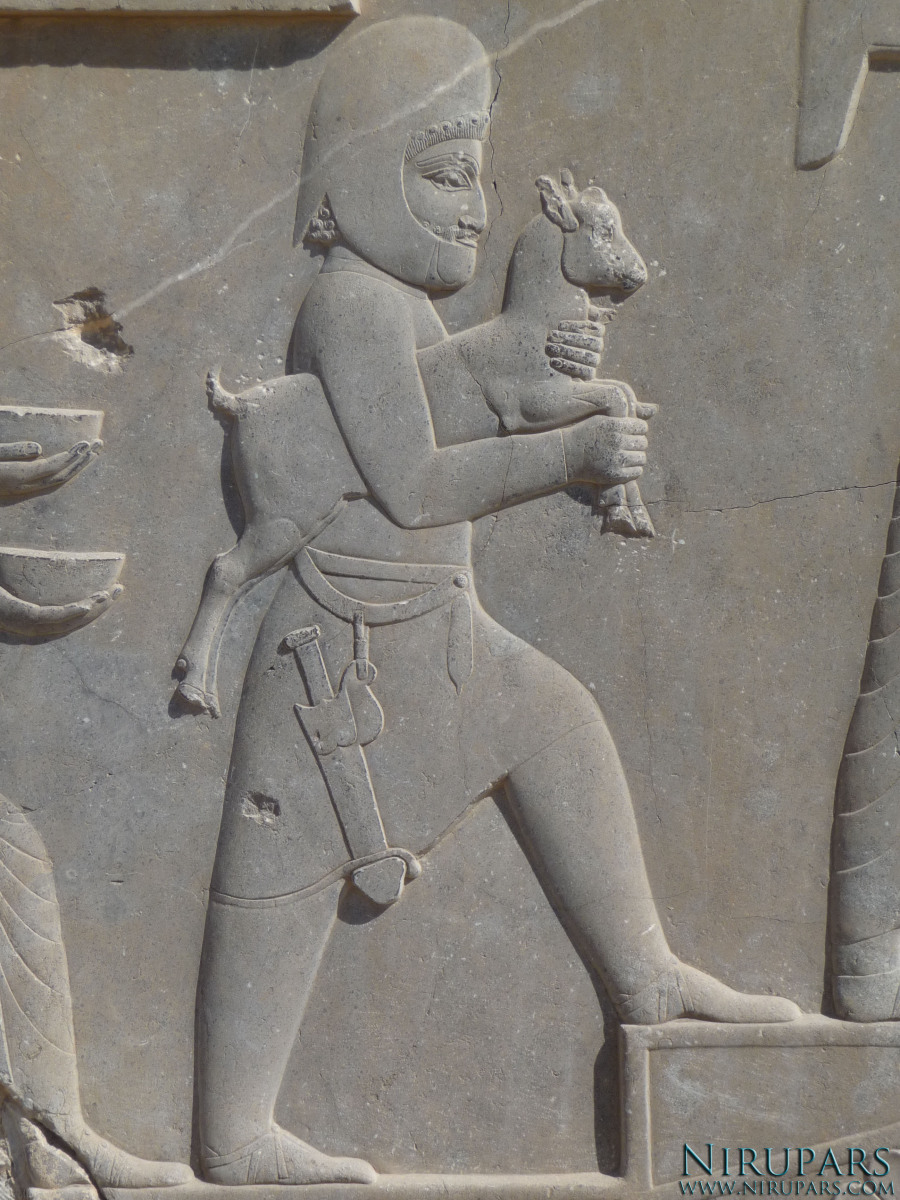 Persepolis - Xerxes Palace - Relief Delegations