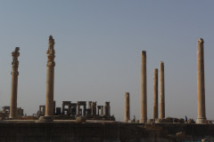 Persepolis - Apadana and Tachara Palace