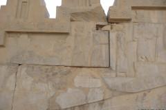 Persepolis - Apadana - East Portico - Delegation Arabia