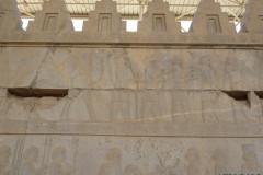 Persepolis - Apadana - East Portico - Delegation Bactria