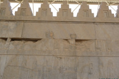 Persepolis - Apadana - East Portico - Delegation Egypt