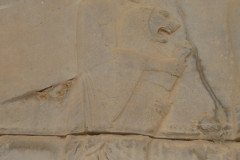 Persepolis - Apadana - East Portico - Delegation Elam - Lion Cub