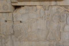 Persepolis - Apadana - East Portico - Delegation Libya