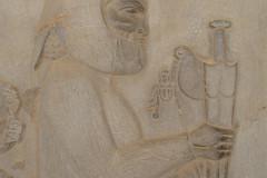 Persepolis - Apadana - East Portico - Delegation Media - Akinakes