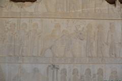 Persepolis - Apadana - East Portico - Delegation Sattagydia Gandara