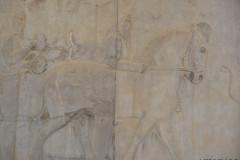 Persepolis - Apadana - East Portico - Delegation Scythia - Horse