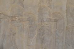 Persepolis - Apadana - East Portico - Delegation Scythia - Horsemen Garment
