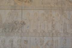 Persepolis - Apadana - East Portico - Delegation Syria