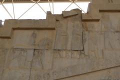 Persepolis - Apadana - East Portico - Delegation Thrace