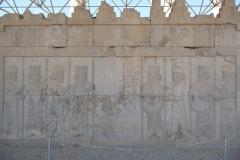 Persepolis - Apadana - East Portico - Relief Persian Soldiers