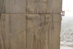 Persepolis - Apadana - East Portico - Relief Persian Archer