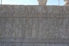 Persepolis - Apadana - North Portico - Delegation Babylon