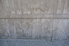 Persepolis - Apadana - North Portico - Delegation Drangiana Arachosia