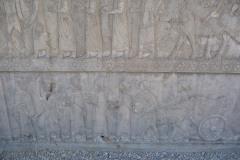 Persepolis - Apadana - North Portico - Delegation Lydia