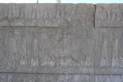 Persepolis - Apadana - North Portico - Delegation Sattagydia Gandara
