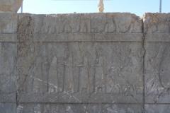 Persepolis - Apadana - North Portico - Delegation Syria