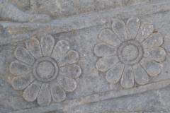Persepolis - Apadana - North Portico - Lotus Blossom