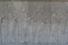 Persepolis - Apadana - North Portico - Ten-thousand Immortals