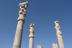 Persepolis - Gate of all Nations - Column Capitals