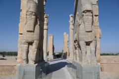 Persepolis - Gate of all Nations - Winged-Human-Bull - Eastside
