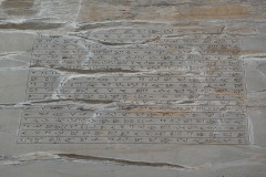 Persepolis - Gate of all Nations - Inscription Xerxes I