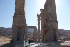 Persepolis - Gate of all Nations - Westside - Bull Reliefs