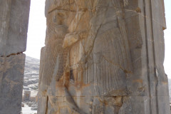 Persepolis - Hall of Hundred Columns - Relief King Devil