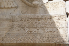 Persepolis - Hall of Hundred Columns - Relief Gate Frame - Lions