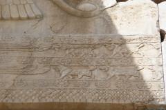 Persepolis - Hall of Hundred Columns - Relief Gate Frame - Lions