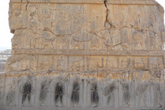 Persepolis - Hall of Hundred Columns - Relief Soldiers