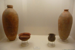 Persepolis - Museum - Pottery Drinking Vessels
