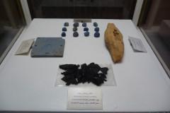 Persepolis - Museum - Remnants Burnt Material Wood Fragment Stones