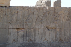 Persepolis - Palace H - Reliefs Soldiers