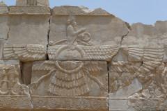 Persepolis - Relief - Entrance Xerxes Palace - Faravahar