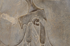 Persepolis - Relief - Persian Leader - Akinakes