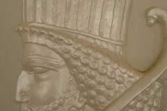 Persepolis - Reconstructed Relief - Persian Soldier