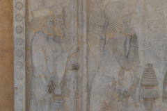 Persepolis - Relief - Throne Relief - Soldiers - Farnaka