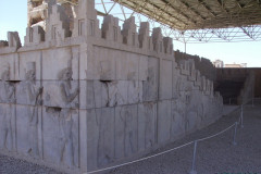 Persepolis - Council Hall - Tripylon - Stairway - Reliefs Soldiers