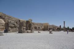 Persepolis - Street of Army - Apadana - Courtyard