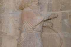 Persepolis - Tomb 1 - Relief King