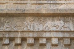 Persepolis - Tomb 1 - Relief Lions