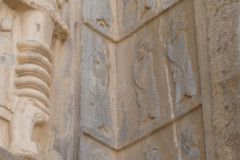 Persepolis - Tomb 1 - Relief - Persian Guardians