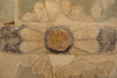 Persepolis - Wall Fragment - Original Painting - Lotus Blossom