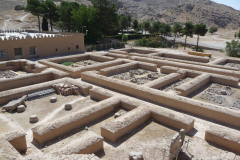 Persepolis - Xerxes Palace - Backside Building Walls