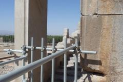 Persepolis - Xerxes Palace - Backstairs
